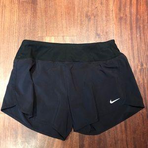 Black Nike dri-fit running shorts
